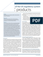 An overview of the US regulatory system for OTC products