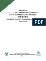 05_Pedoman Pencegahan Dan Pengendalian Infeksi MERS-CoV