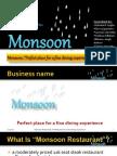 98879571 Sample Business Plan Presentation of Resturant