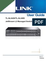 TL-SL3452 User Guide