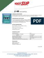 TDS Molyslip As40 Anti Scuff Paste