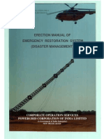 Erection Manual of ERS (Disaster Management)