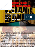 Introduction to Basic Contracts in Islamic Banking