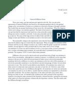 Osmosis Diffusion Essay