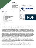 Timah (Perusahaan) - Wikipedia Bahasa Indonesia, Ensiklopedia Bebas