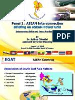 (181536741) Panel 1-1 Briefing on ASEAN Power Grid
