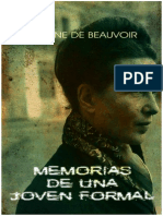 50643139 Simone de Beauvoir Memorias de Una Joven Formal