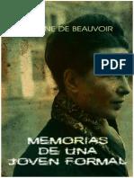50643139 Simone de Beauvoir Memorias de Una Joven Formal