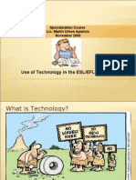 Use of Technology in ESL_EFL Classroom