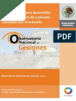 Metodologia Para Desarrollar Un Observatorio de Lesiones Causadas Por El Transito