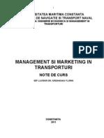 Management Si Marketing in Transporturi
