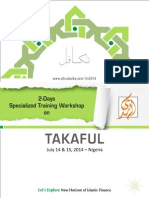 2 Days Specialized Training Workshop on Takaful