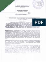 Hr 946 - Ep,Cloa,Clt Cancellation