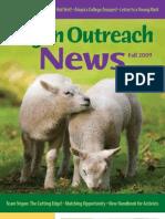 Vegan Outreach Magazine - Fall 2009