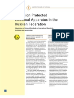 Explosion Protection Standards in Russia