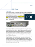 [5] Cisco ASR 9001 Router Datasheet