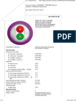 Profibus Cable Datasheet