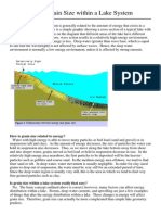 The Basics of Grain Size Within a Lake System