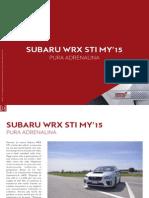 SUBARU WRX STI MY'15