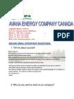 Avana Energy Interview Form-1