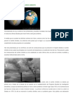 Acuerdos Mundiales Sobre El Medio Ambiente