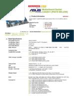 ASUS Motherboard Socket LGA2011 [P9X79 DELUXE] - Motherboard Intel Socket LGA2011