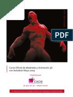 Curso Oficial de Modelado y Animacion 3d Con Autodesk Maya 2009