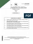 Cape Caribbean studies 2010 past paper paper2