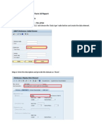 Manual Instruction for FoTESrm 16 Report