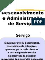 UNI 12 Desenvolvimento e Administração de Serviços