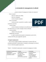 Implementarea Sistemului de Management Al Calitatii