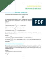 Fraciones Algebraicas