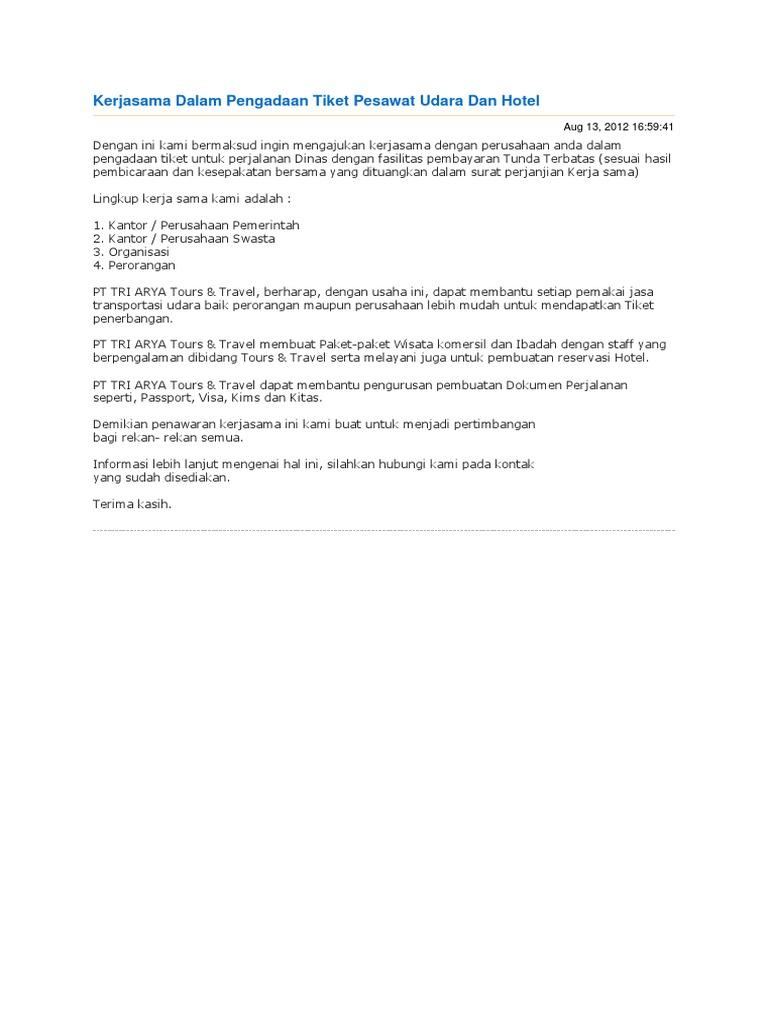 Contoh Surat Penolakan Tawaran Kerja Dalam Bahasa Inggris