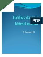 Klasifikasi Dan Jenis Material Kemasan