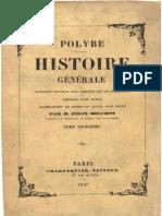 Polybe - Histoire Générale - Tome 3