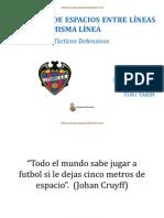 REDUCCIÓN ESPACIOS ENTRE LÍNEAS Y ENTRE MISMA LÍNEA. LEVANTE U.D.