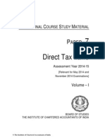 DIRECT TAX LAWS assessment year 2014-15