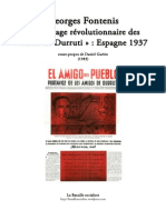 Message AmigosGeorges Fontenis Le Message révolutionnaire des « Amis de Durruti »