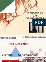 Tipologia de Los Delincuentes