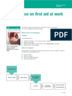 Basic First Aid at Work