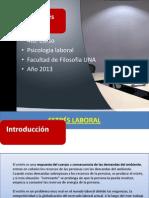 Estres Laboral-2013