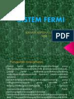 Fistat Sistem Fermi
