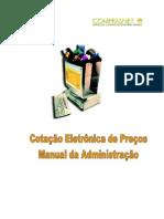 Manual Cotação Eletrônica - Administracao