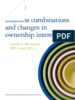 Business Combinations and Change in Ownership Interests