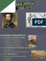 TEMA 8.Sexenio Democrático