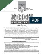 Monitorul Oficial Planul de Conturi