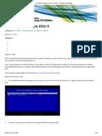 Instalando o VMware ESXi 5 » VMaster - Portal de Virtualização
