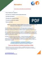 Requisitos Para El Proceso de Inscripcion