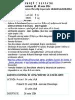 Acte-licenta Disertatie Iunie 2014