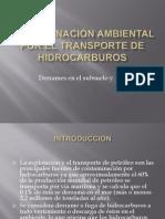 Contaminación Ambiental Por El Transporte de Hidrocarburos
